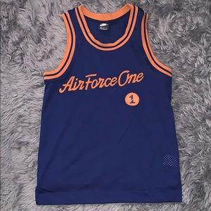Nike Sportswear Air Force 1 Blue Basketball Jersey